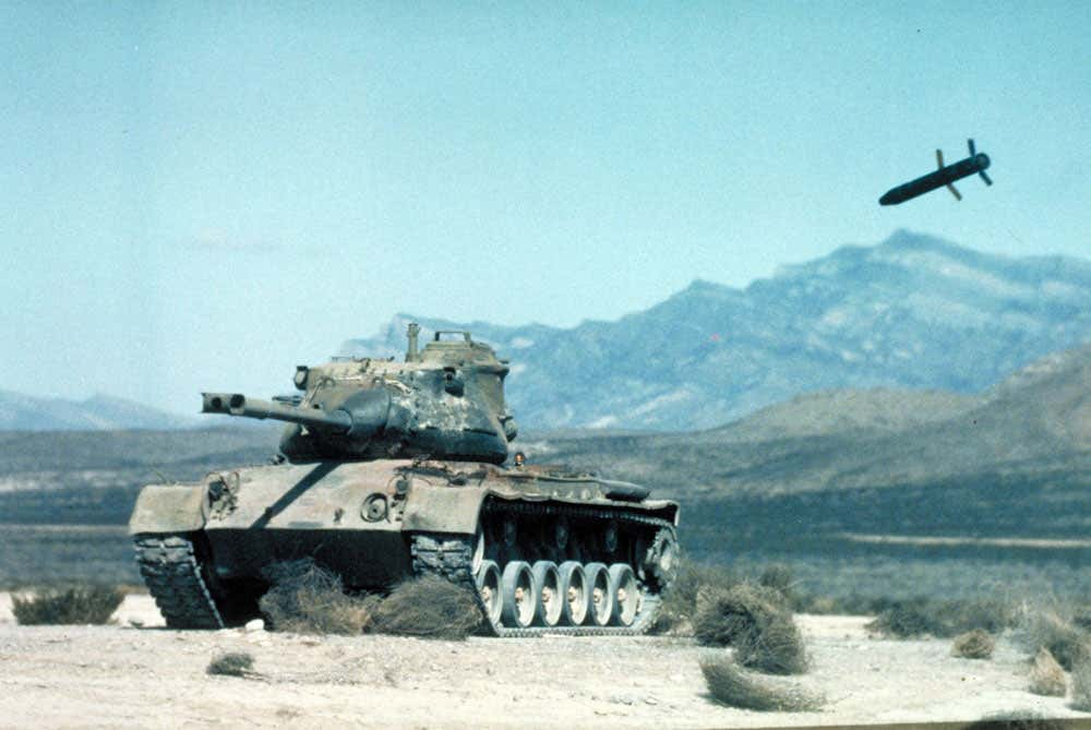 Copperhead laser-guided artillery round