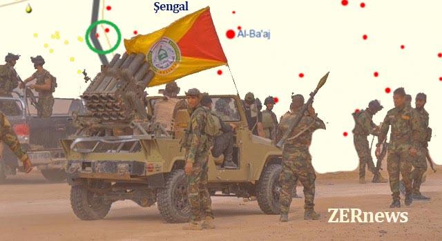 Şii Haşdi Şabi Şengal Rojava Sınır Kapısı