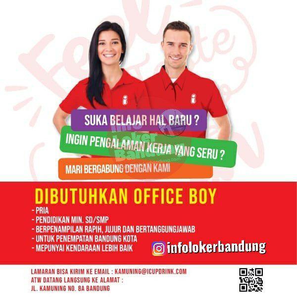 Lowongan Kerja I-cup Bubble Drink Kamuning Bandung Oktober 2019