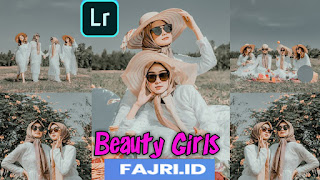 Preset Lightroom Beauty Girls Ala Selebgram DNG & XMP