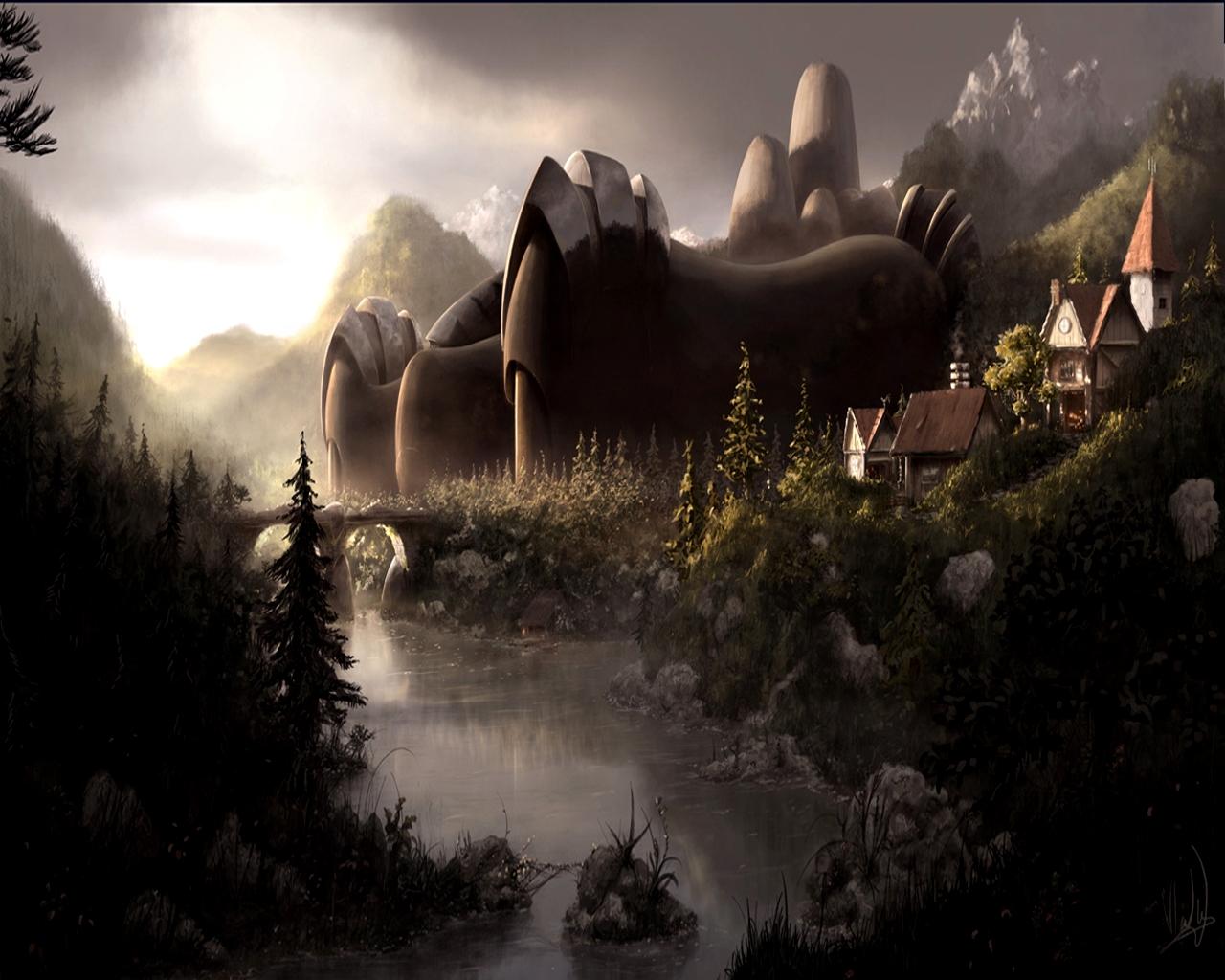 Wallpaper Tadka Fantasy World Wallpaper