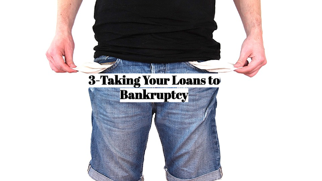 Because the value of your education can't be repossessed, a student loan generally can't be wiped out in a bankruptcy