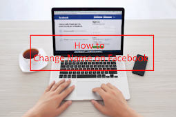 Change Name Of Facebook Account