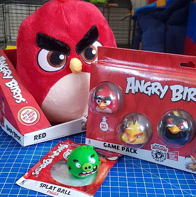 Angry Birds 2 Jazwares toys reviewed Splat Ball Game Pack Plushy