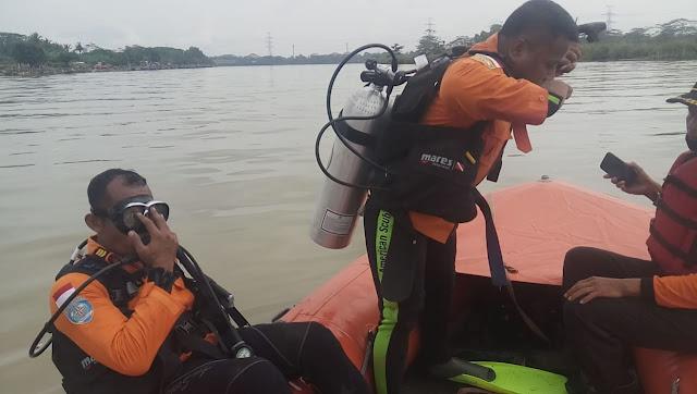 Pencarian Hari Kedua, Korban Tenggelam di Sungai Serayu Belum Ditemukan