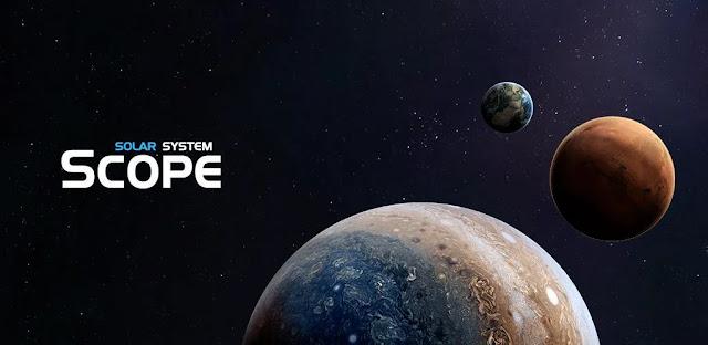 تنزيل  تطبيق Solar System Scope  المحاكي الكامل للنظام الشمسي للاندرويد