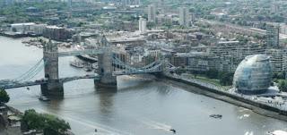 Londres, vistas desde el Sky Garden.