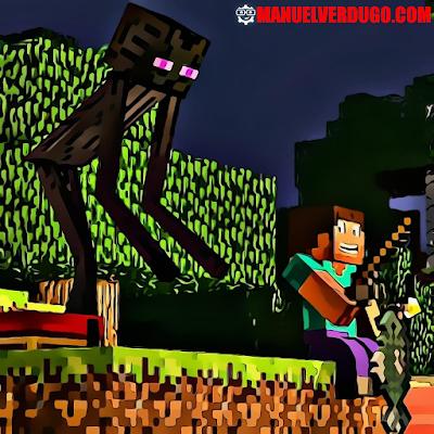 Creepypasta de Minecraft: Los ojos de Enderman