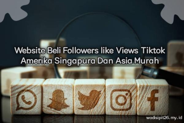 22+ website beli followers like views tiktok murah