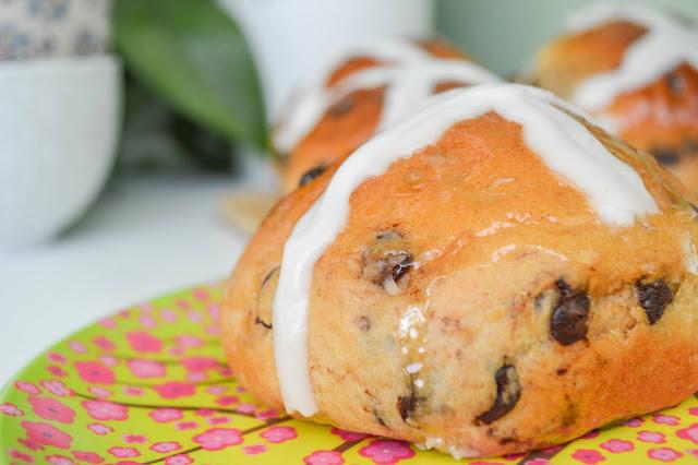 Pan Dulce de Pascua, Hot cross bun