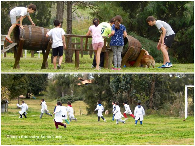 En los juegos y en la cancha - Chacra Educativa Santa Lucía