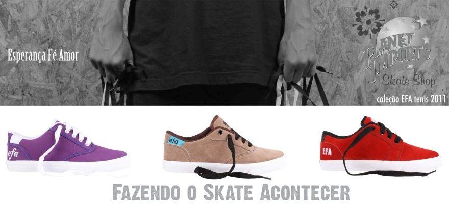 Planet Skate Shop  A Planet trás um pouco de EFA para sua vida!! 102078a1a4