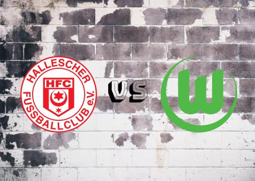 Hallescher FC vs Wolfsburg  Resumen