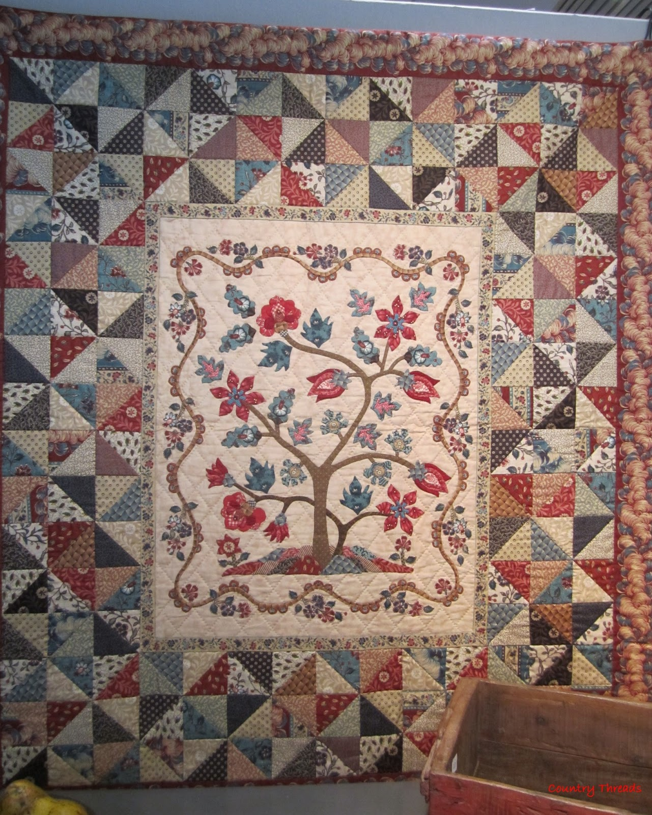 Petra Prins Quilt Zutphen.Country Threads Les Petit Maisons Continue