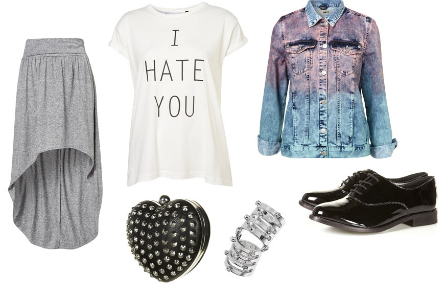 ...but I'm Not A Journalist.: Fashion: Topshop Collages