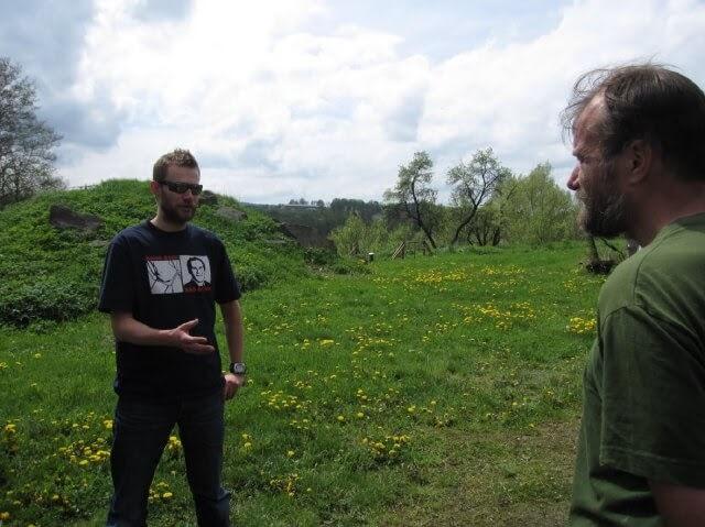 Conrad and Wim Hof