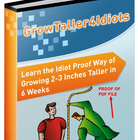 Grow Taller 4 Idiots PDF - Completely Free eBook Download