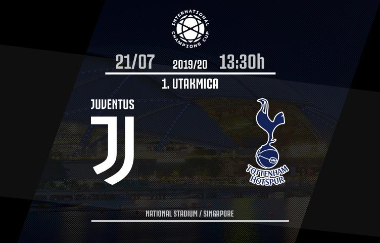ICC 2019/20 /I utakmica / Juventus - Tottenham, nedelja, 13:30h