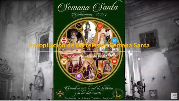 Vídeo de la Recopilación de Carteles de Semana Santa de localidades fuera de Andalucía del 2021: Parte 2
