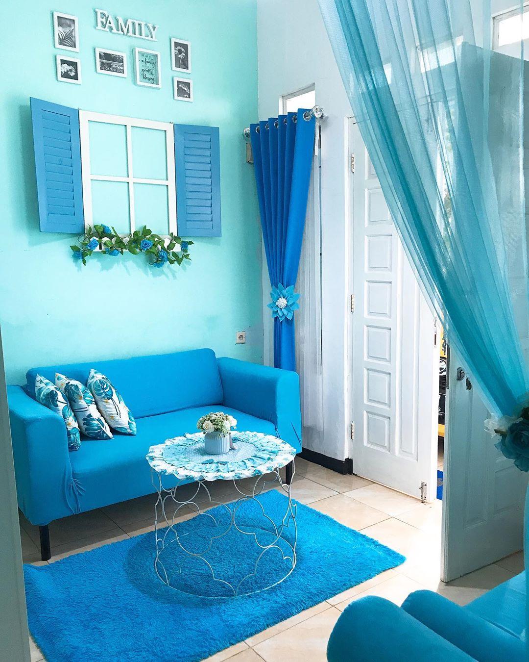 Inspirasi Rumah Warna Biru Yang Membuat Damai Dihati Homeshabby