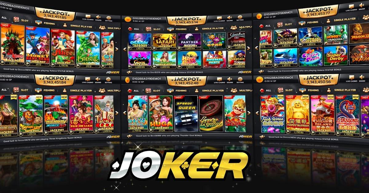 Link Resmi Joker123.net Bandar Judi Slot Online