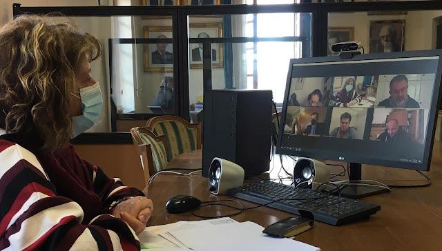 Τηλεδιάσκεψη για την οργάνωση και λειτουργία Περιπτέρου Τουριστικής Πληροφόρησης στο Δήμο Ναυπλιέων