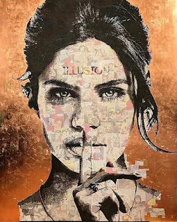 rostros-femeninos-pintados-óleo