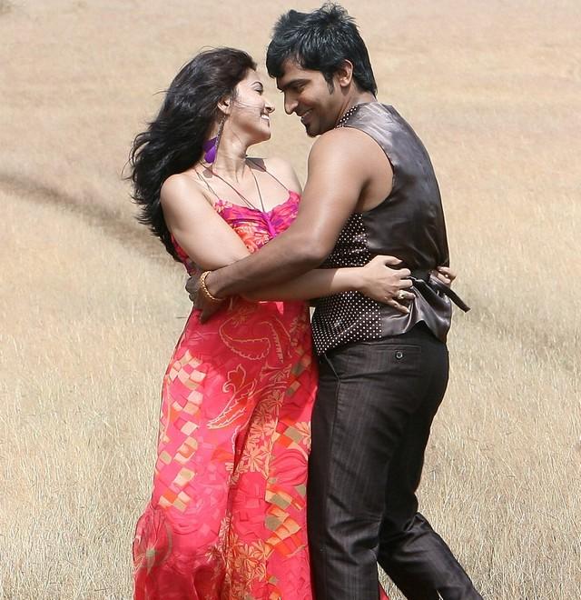 Sneha Vaibhav's Hot Romantic Stills From GOA Telugu Movie