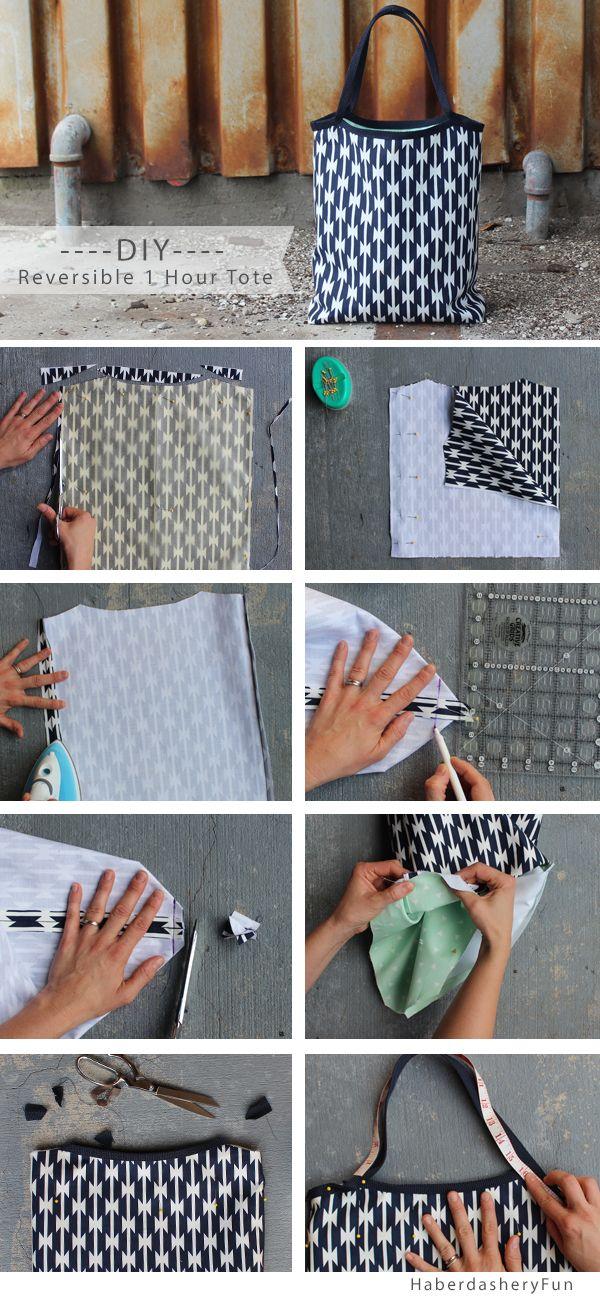 Kreasi jahitan Tote Bag yang mudah