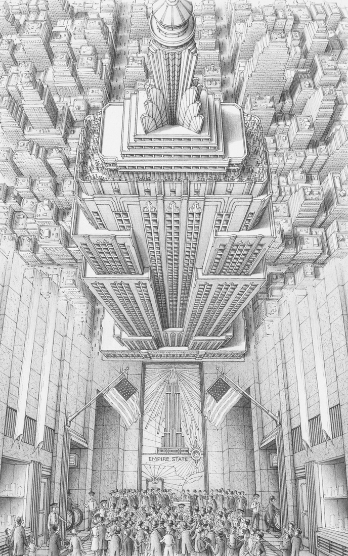 01-Empire-State-Building-New-York-Stephen-Biesty-Historical-Architectural-Buildings-Inside-out-Drawings-www-designstack-co
