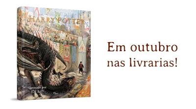 Vídeo: Editora Rocco divulga prévia da edição ilustrada de 'O Cálice de Fogo' | Ordem da Fênix Brasileira