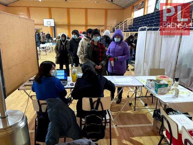 Vacunas contra el Covid19 en Osorno