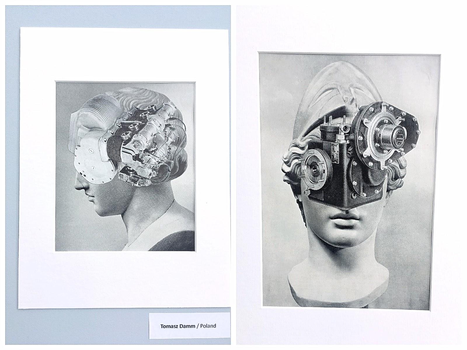 Collage Art Exhibition by Retroavangarda 2019