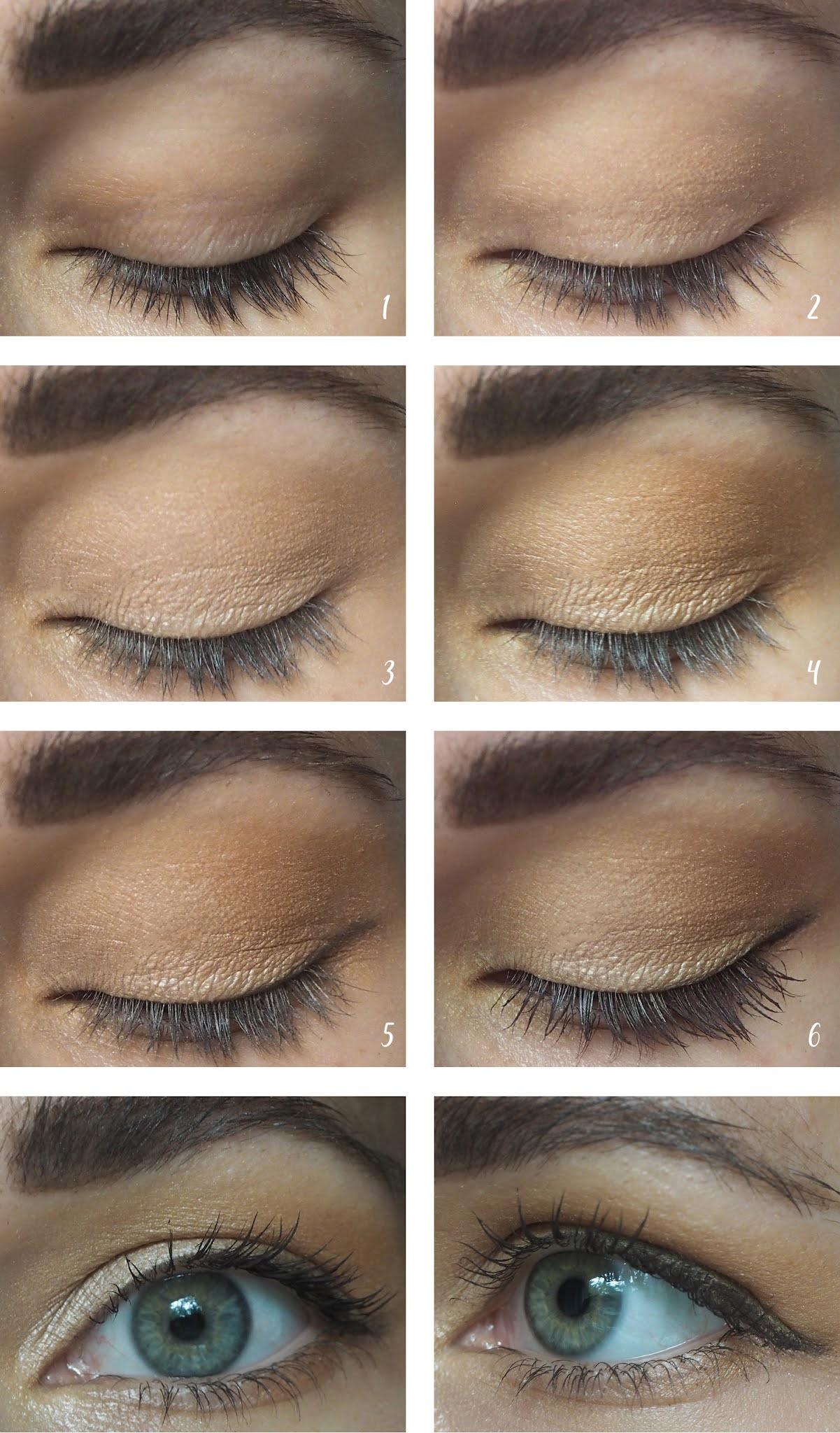 Augen-Make-Up-Look mit minimaler Produktauswahl
