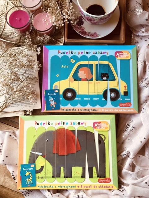 Pudełko pełne zabawy - Pojazdy // Zwierzęta