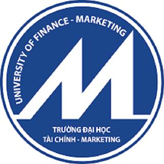 Logo trường Đại học tài chính Marketing
