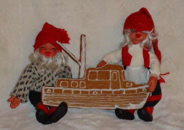God jul, Pepperkakebåt, Trawler