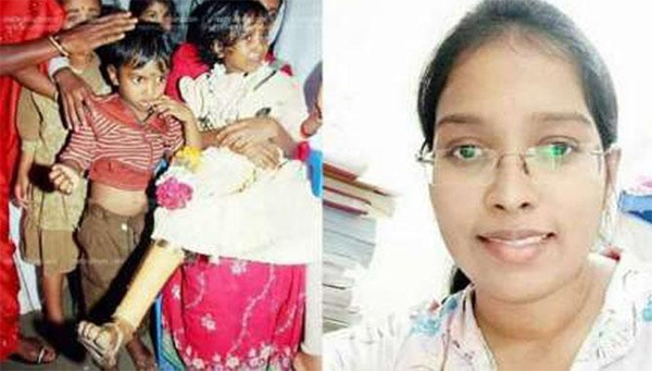 Asna, famed child victim of Kannur violence, to helm health centre near home, News, Kannur, Local-News, Education, Doctor, Politics, BJP, Congress, Bomb, Injured, Hospital, Treatment, Kerala