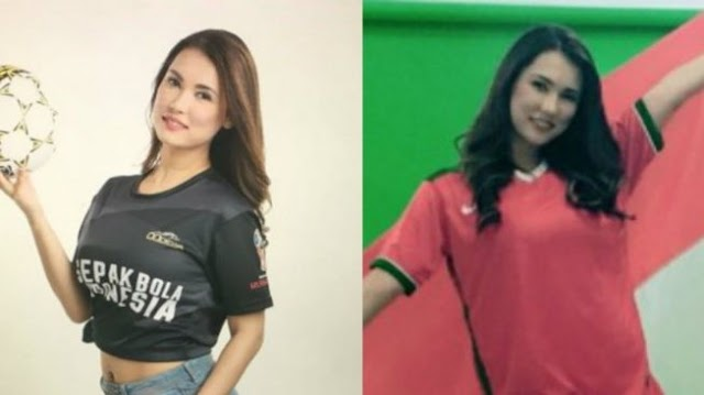 Heboh Miyabi Atau Maria Ozawa Mengenakan Jersey Timnas Indonesia