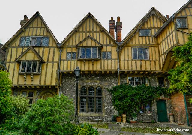 tribunal medieval de Cheyney Court, em Winchester
