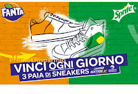Logo Concorso ''Vinci le tue sneakers con Fanta e Sprite'' : 156 coupons da 200€