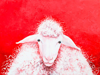 Sheep painting - Gabriel