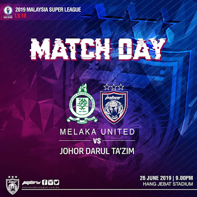Melaka United vs JDT