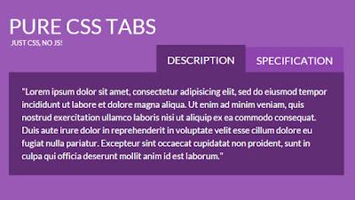 Accordion Tabs and Menus HTML5 & CSS3 - دروس4يو Dros4U