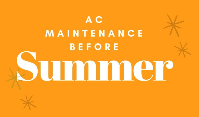 AC maintenance before summer in 2021