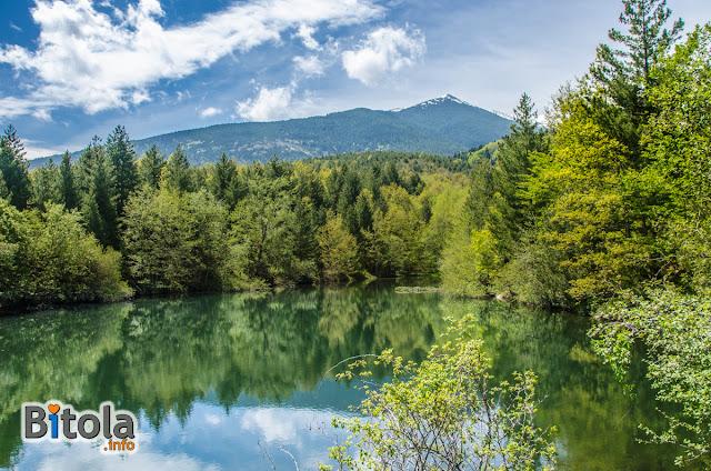 Rotino Lake, Baba Mountain, Bitola Municipality, Macedonia