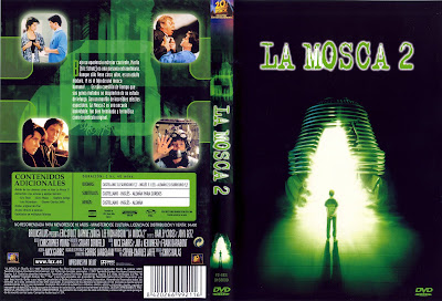 Carátula dvd: La Mosca II (1989)