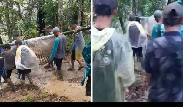 Unggah Video Ibu Hamil Ditandu di Jalan Rusak di Desanya, Warga Lebak Diamankan Polisi
