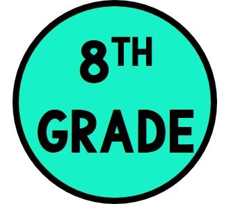8th Grade Button