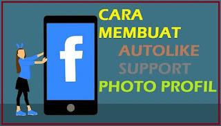 Cara bikin autolike bisa foto profile